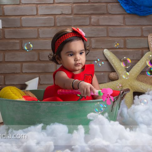 Creative Baby Photoshoot