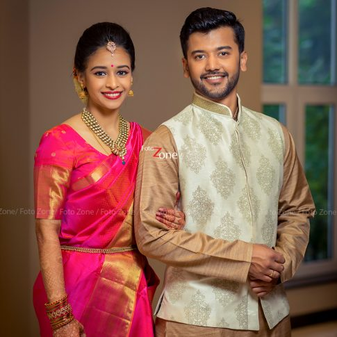 Varsha weds Shreyas | Simple, Stunning and Classy