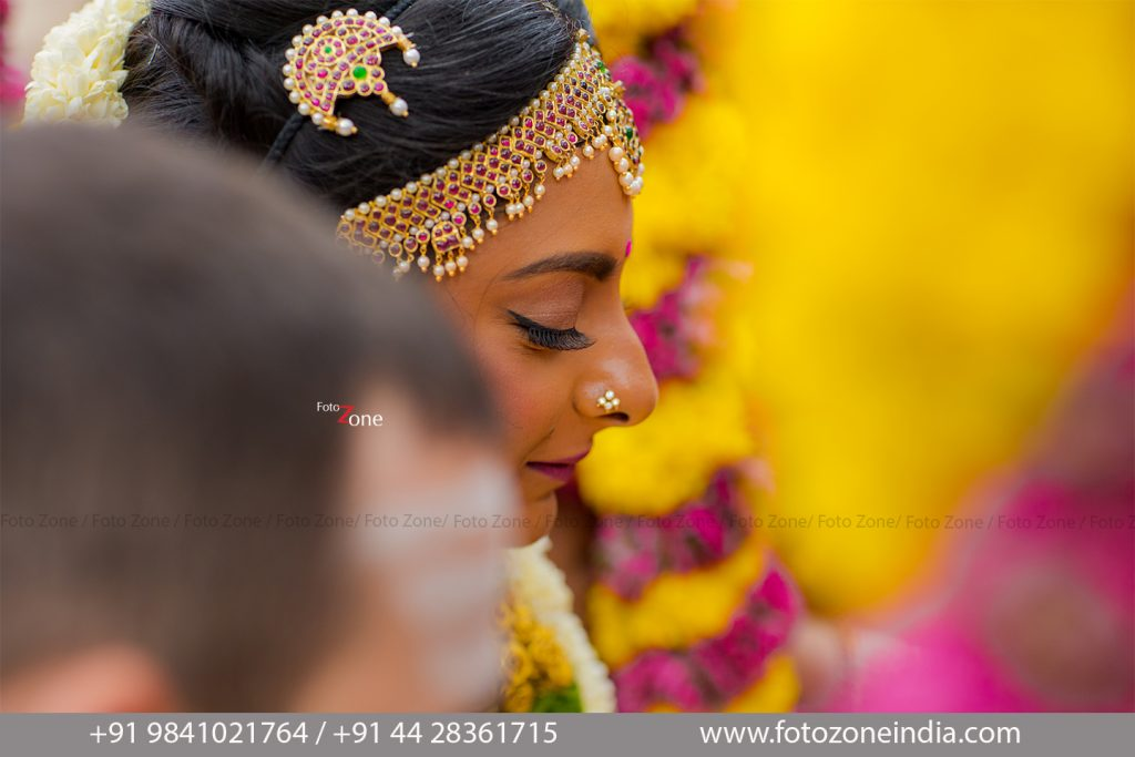 Bridal candid photography
