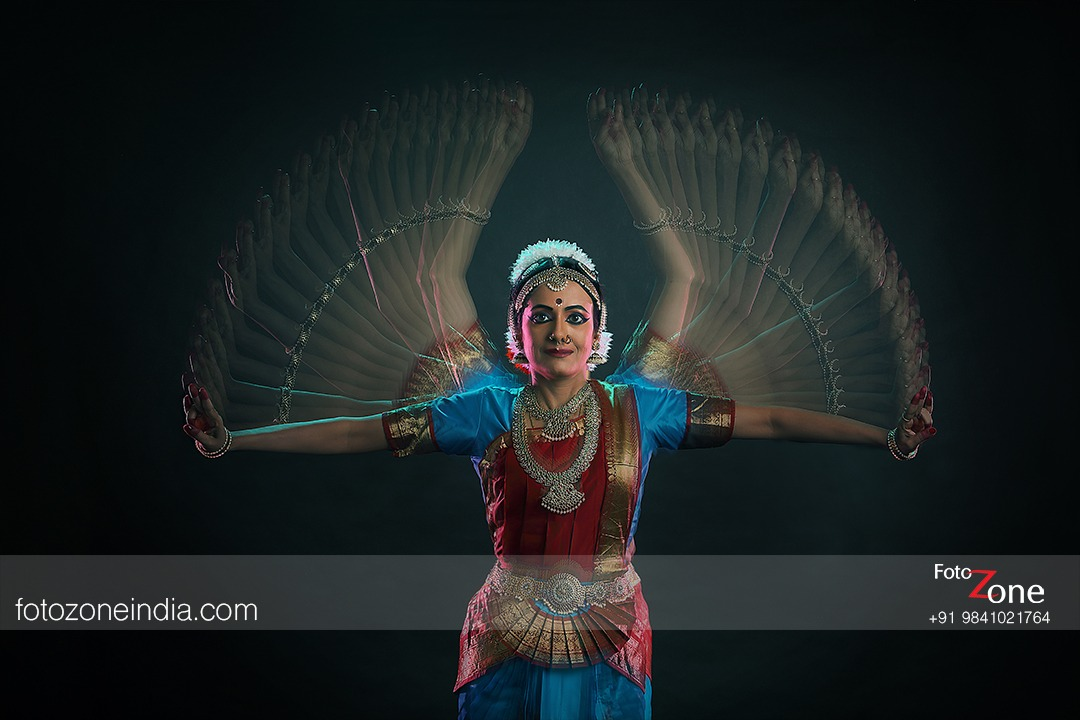 Motion Blur Classical Dance Portrait Photography